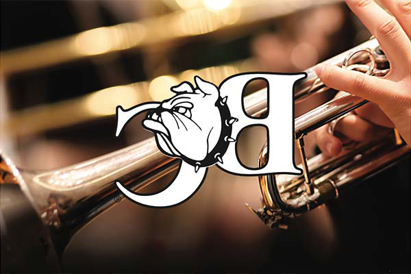 Trumpet photo with BC logo
